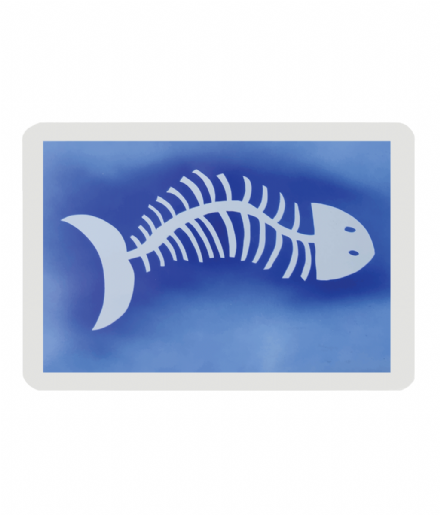Pet Food Mat Fish Design